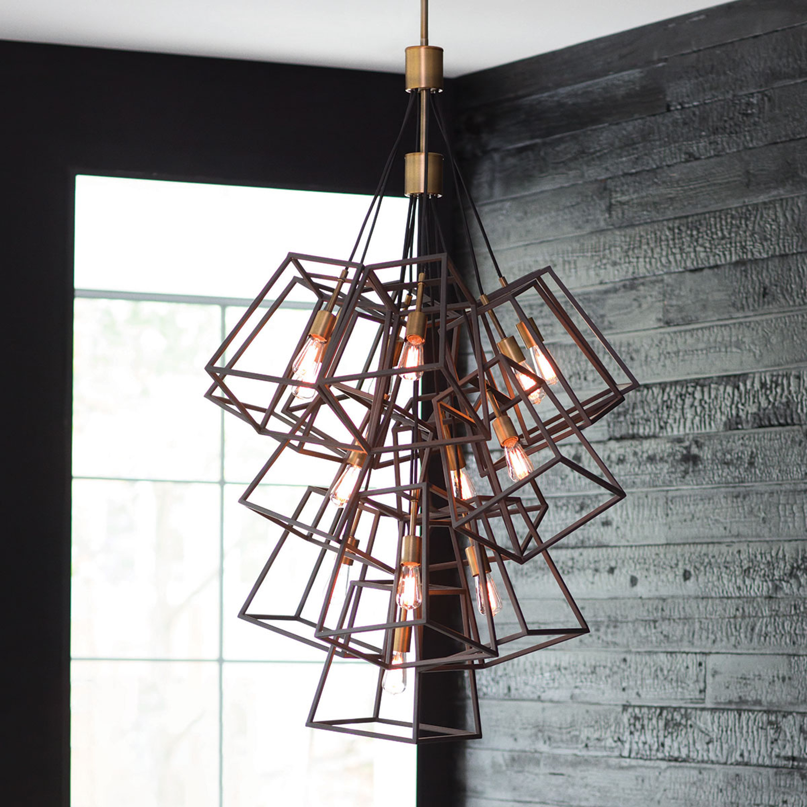 Kroonluchter Fulton 7-lamps