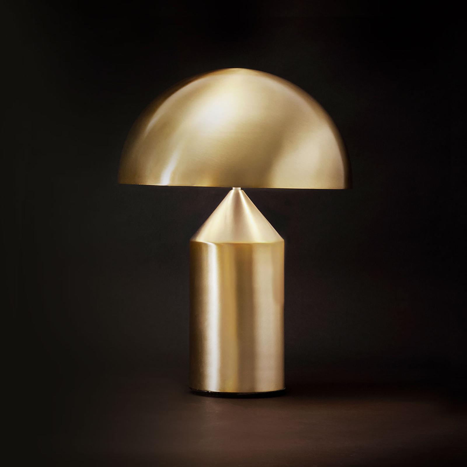 Lampada da tavolo di design Atollo, oro