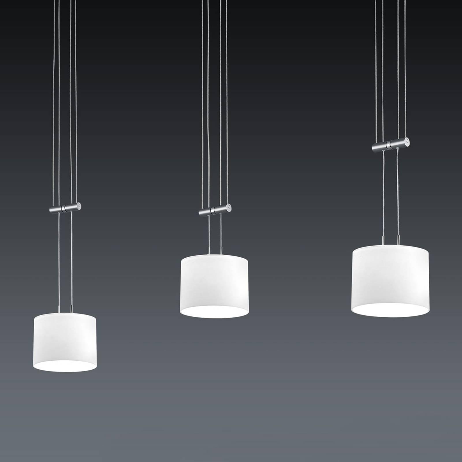 BANKAMP Grazia LED-hanglamp ZigBee voor 3-lamps