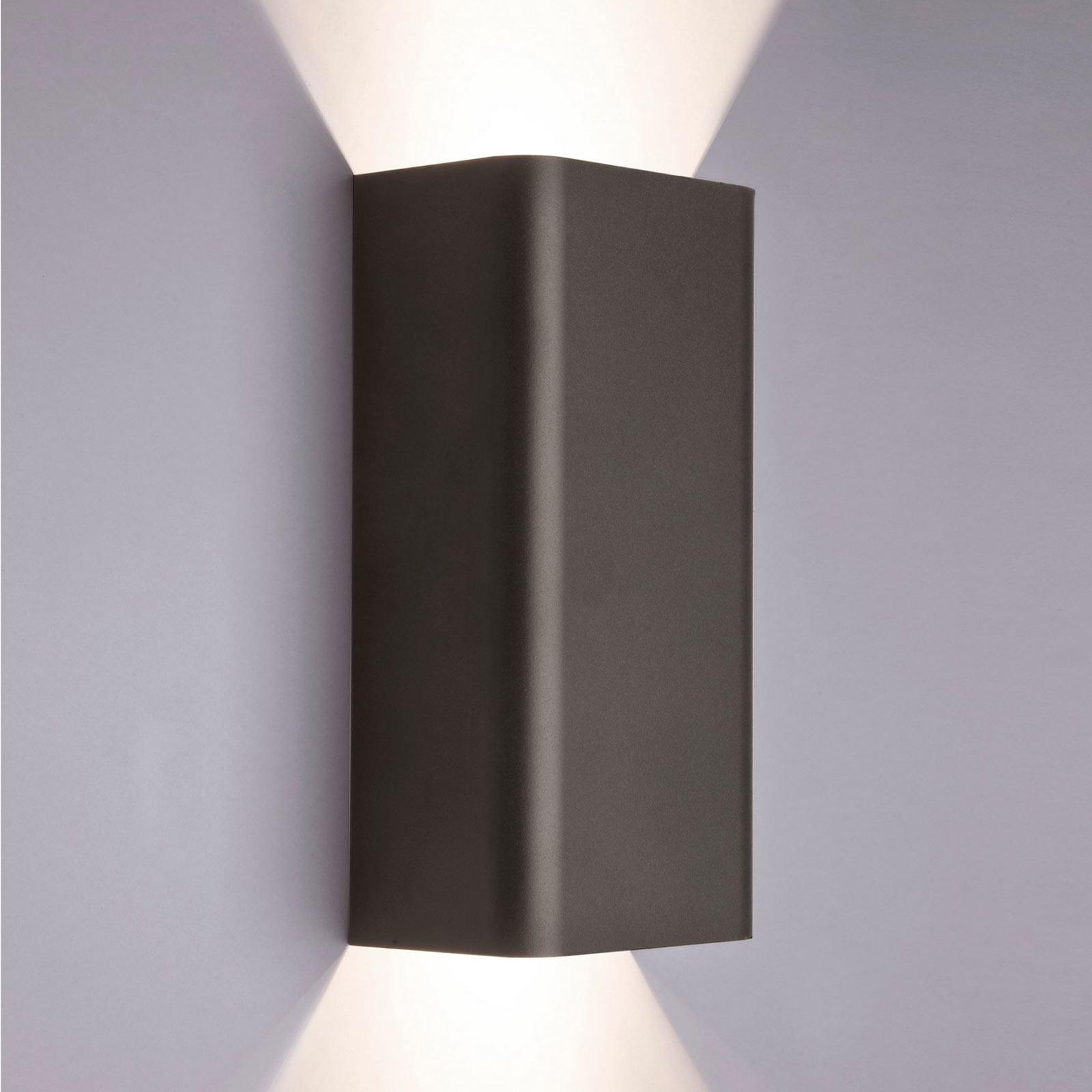 Wandlampe Bergen up & down, graphit