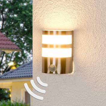 Bevægelsessensor LED-udendørsvæglampe Lucja