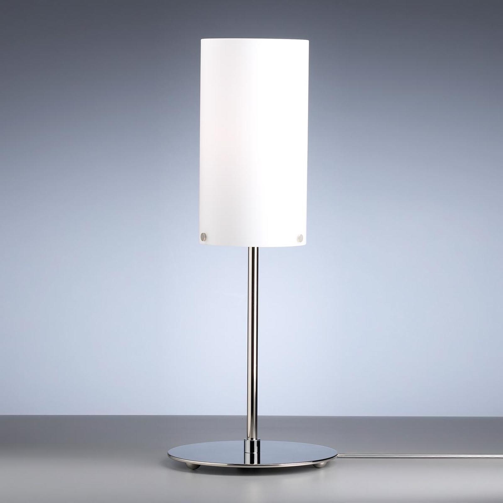 Cilindervormige tafellamp van Walter Schnepel