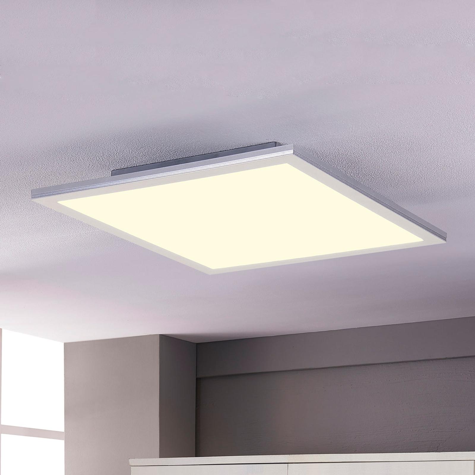 Lindby Livel panel LED 4000K, 62 cm x 62 cm