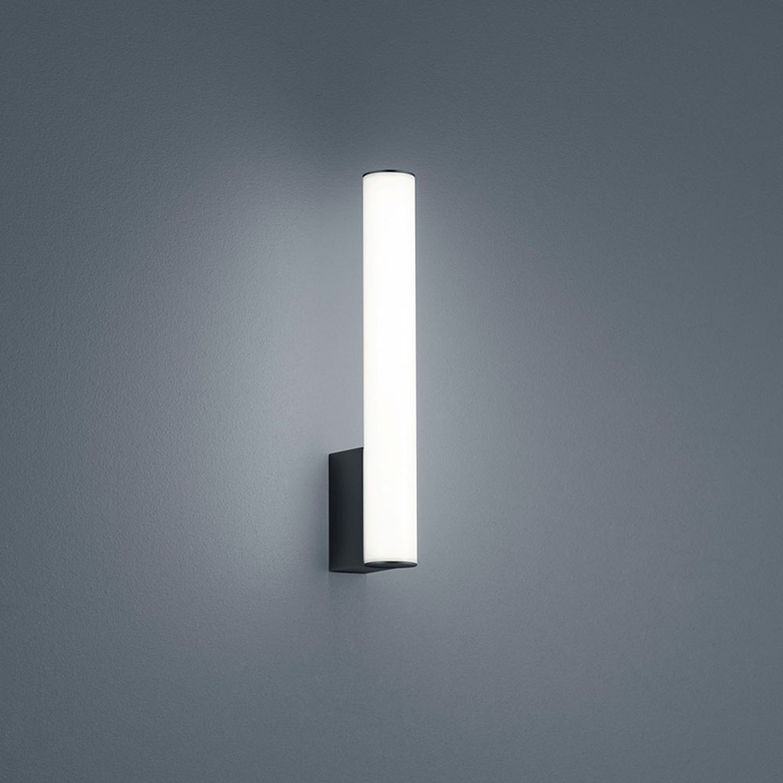 Helestra Loom lámpara de espejo LED negro 30 cm