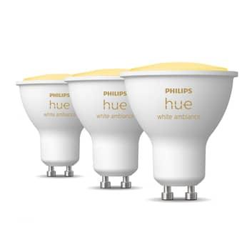 Philips Hue White Ambiance GU10 4,3W Reflektor 3er