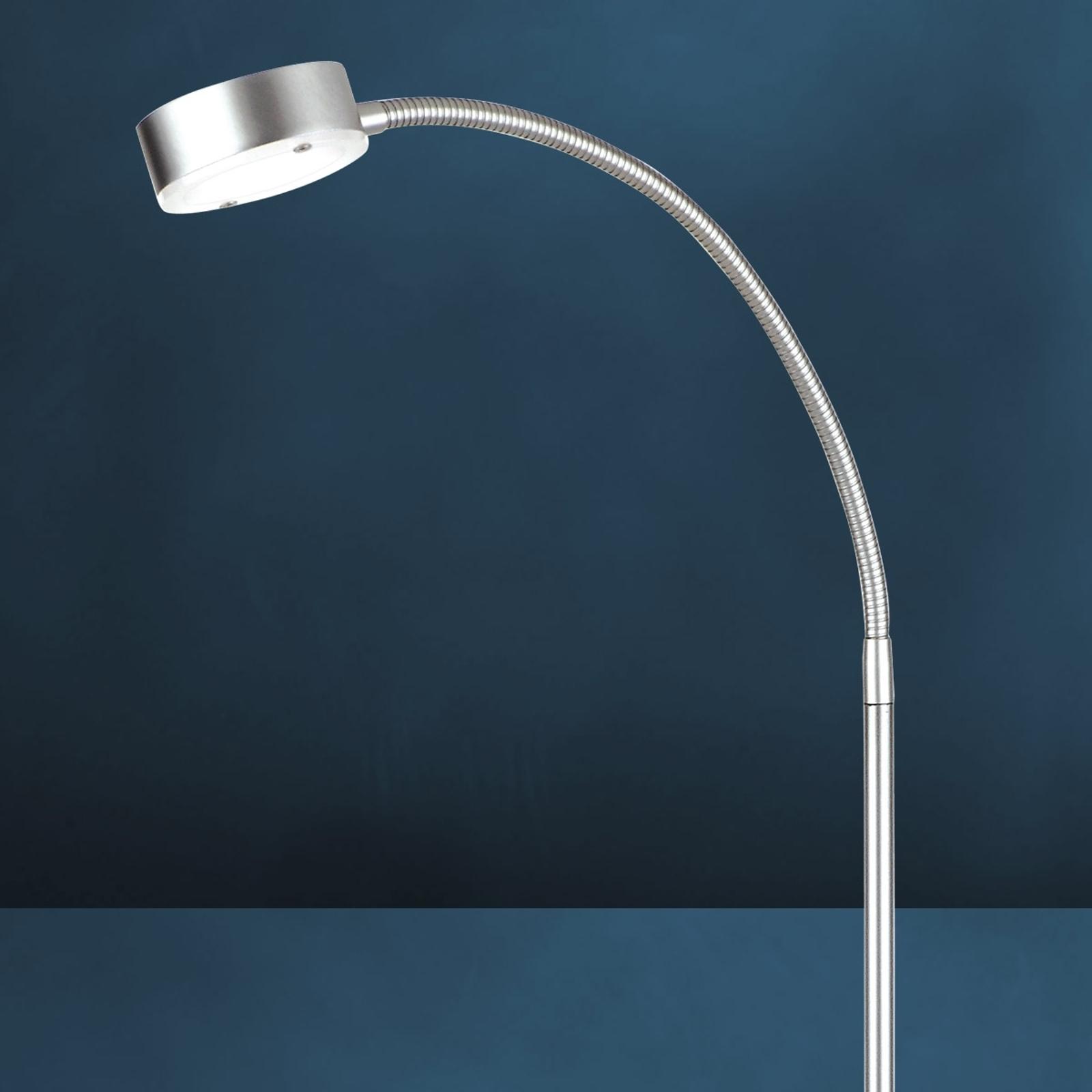 Flexibel LED-golvlampa SATURN med 1 ljuskälla