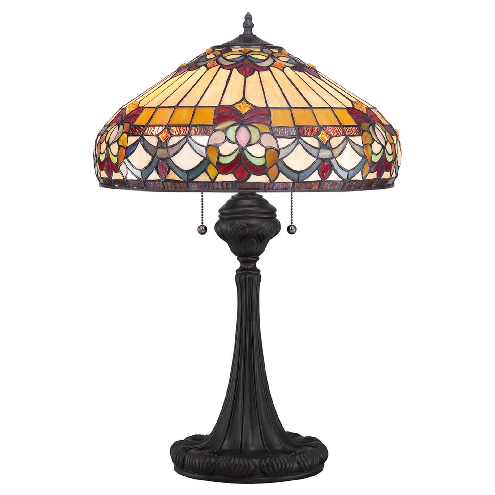 Tischlampe Belle Fleur im Tiffany-Design