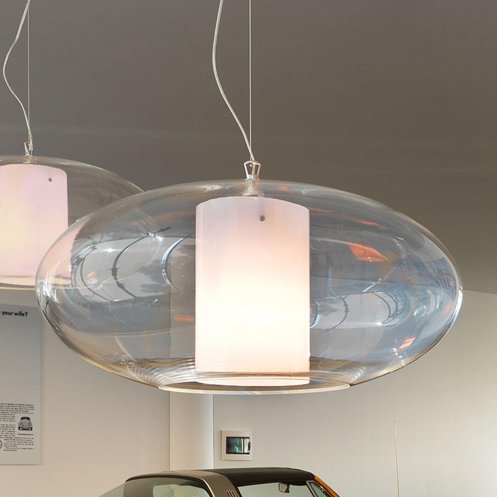 Modo Luce Ellisse hanglamp kunststof wit