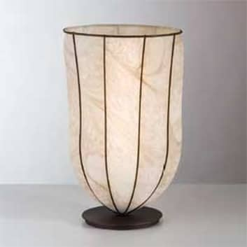 Antikk bordlampe GIARA