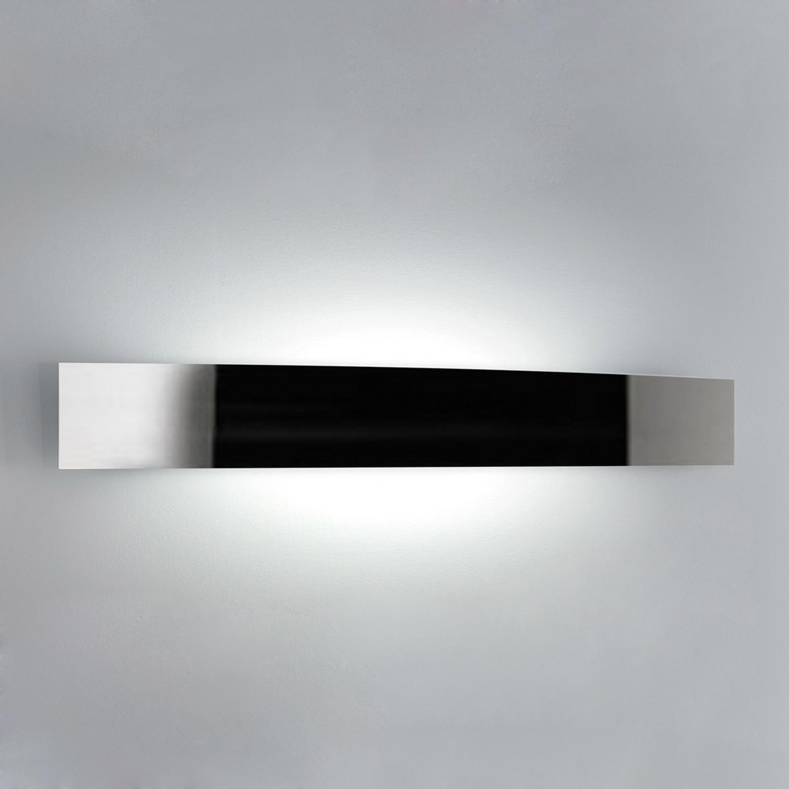 Lampa ścienna RIGA szerokość 56 cm stal szlachetna