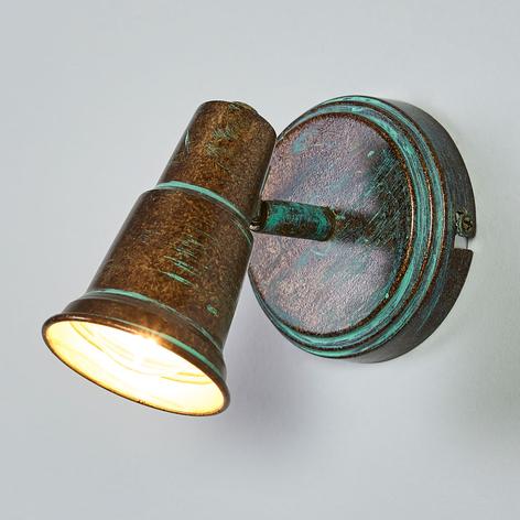 Antiikkityylinen Arielle-spotti, kuparinvihreä