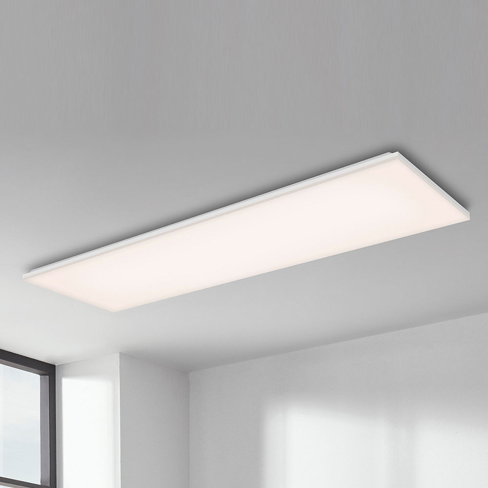 LED plafondlamp Frameless RGBW, 120x30cm