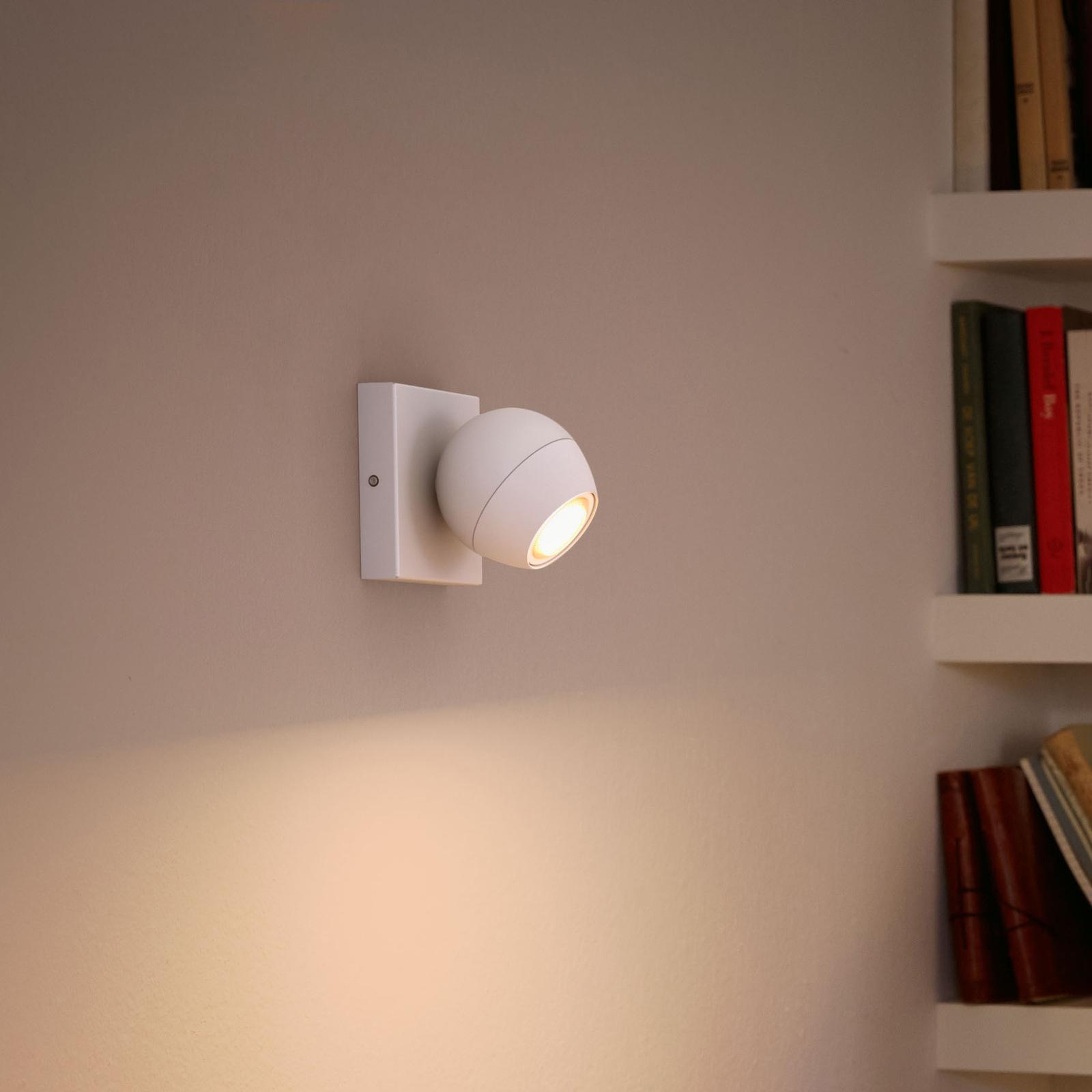 Philips Hue Buckram LED-spot hvid dæmperkontakt