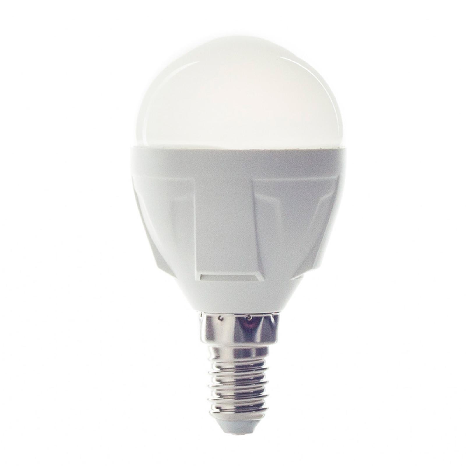 E14 6W 830 LED-Lampe in Tropfenform warmweiß