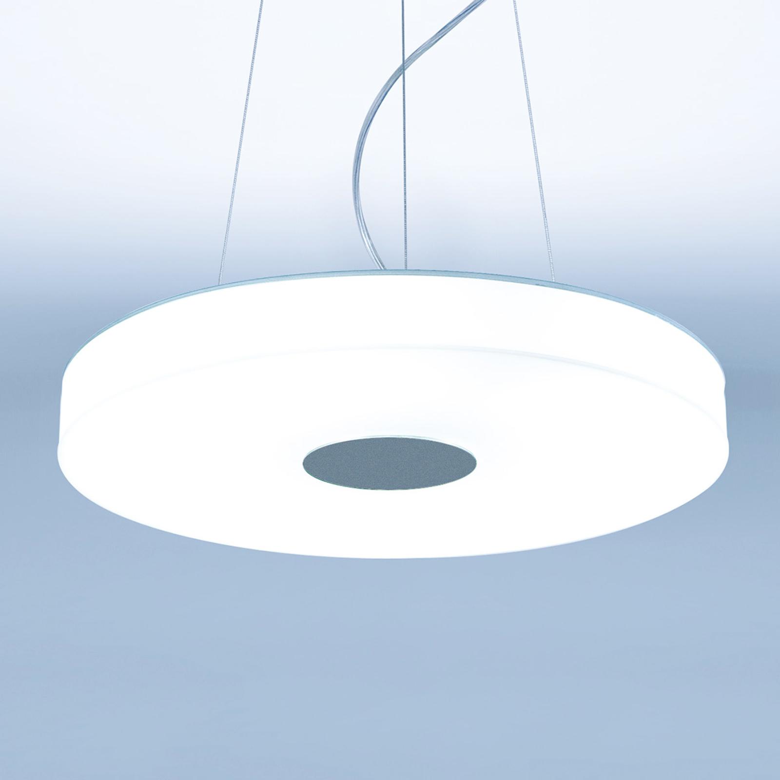 Świecąca dookoła lampa wisząca LED Wax-P1, 39 cm