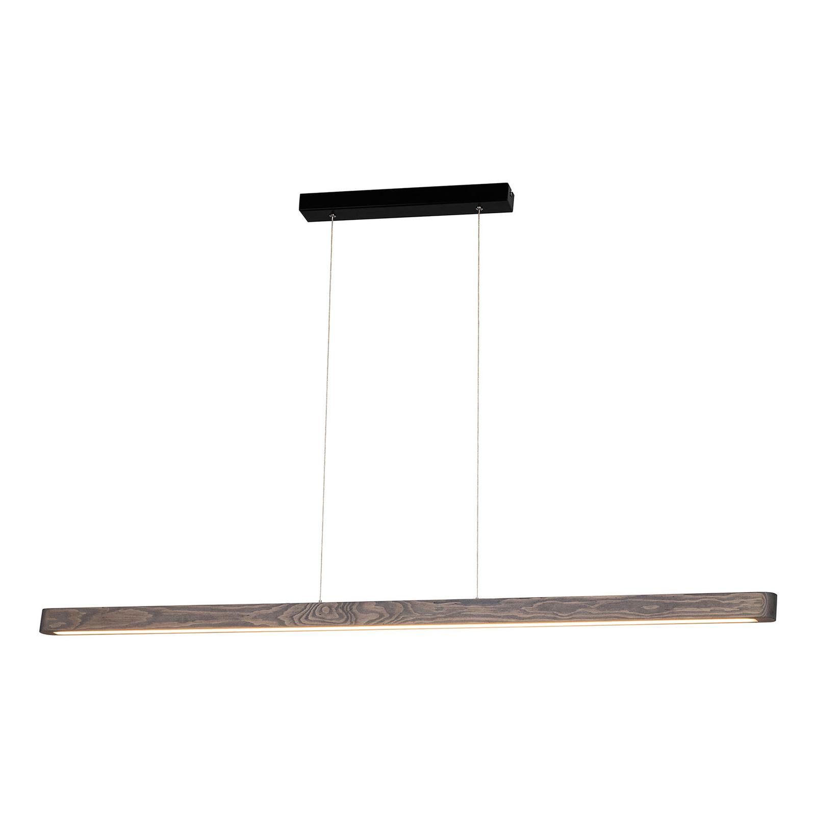 LED-hengelampe Forrestal, 120 cm lang