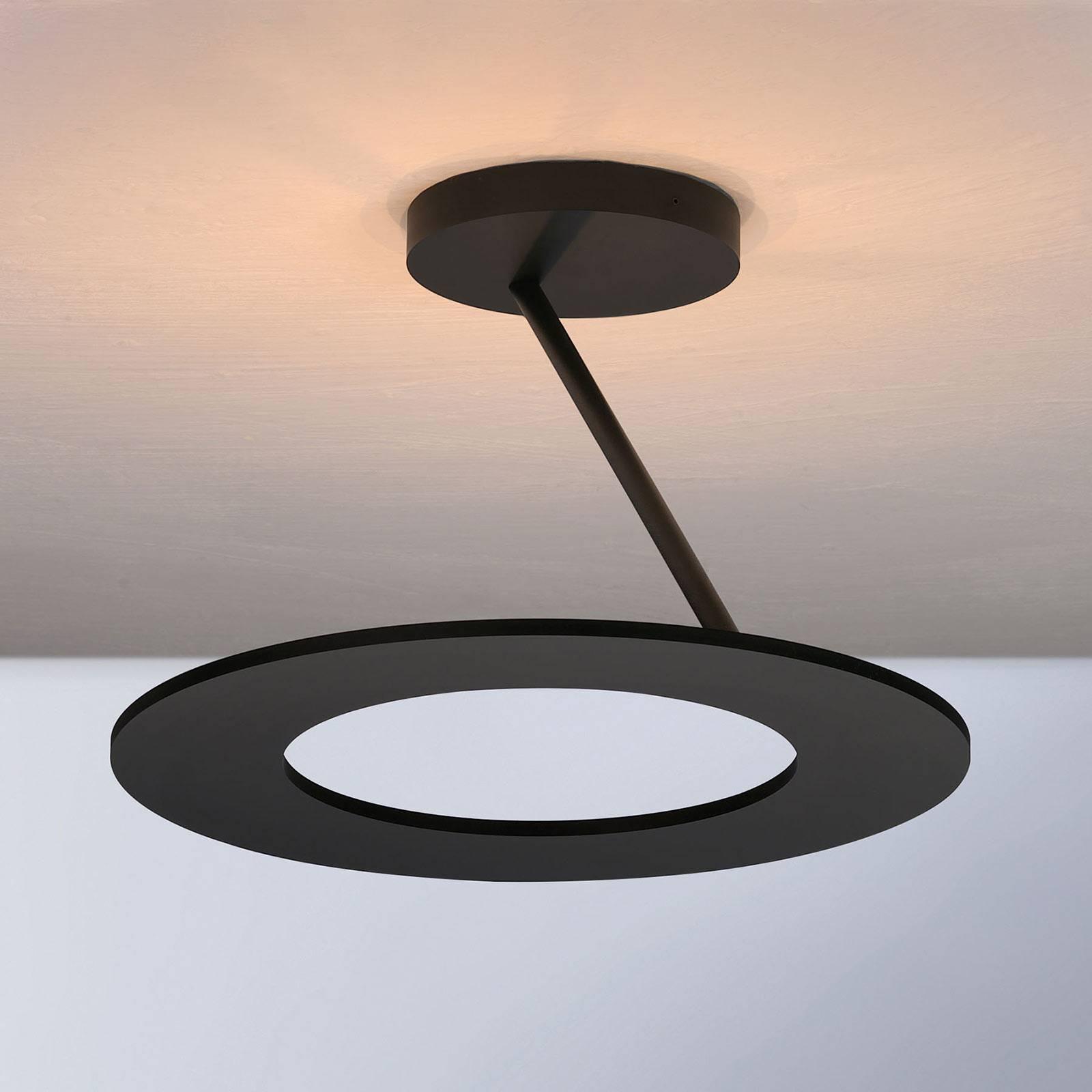 Bopp Stella plafondlamp 1ring Ø 30cm zwart