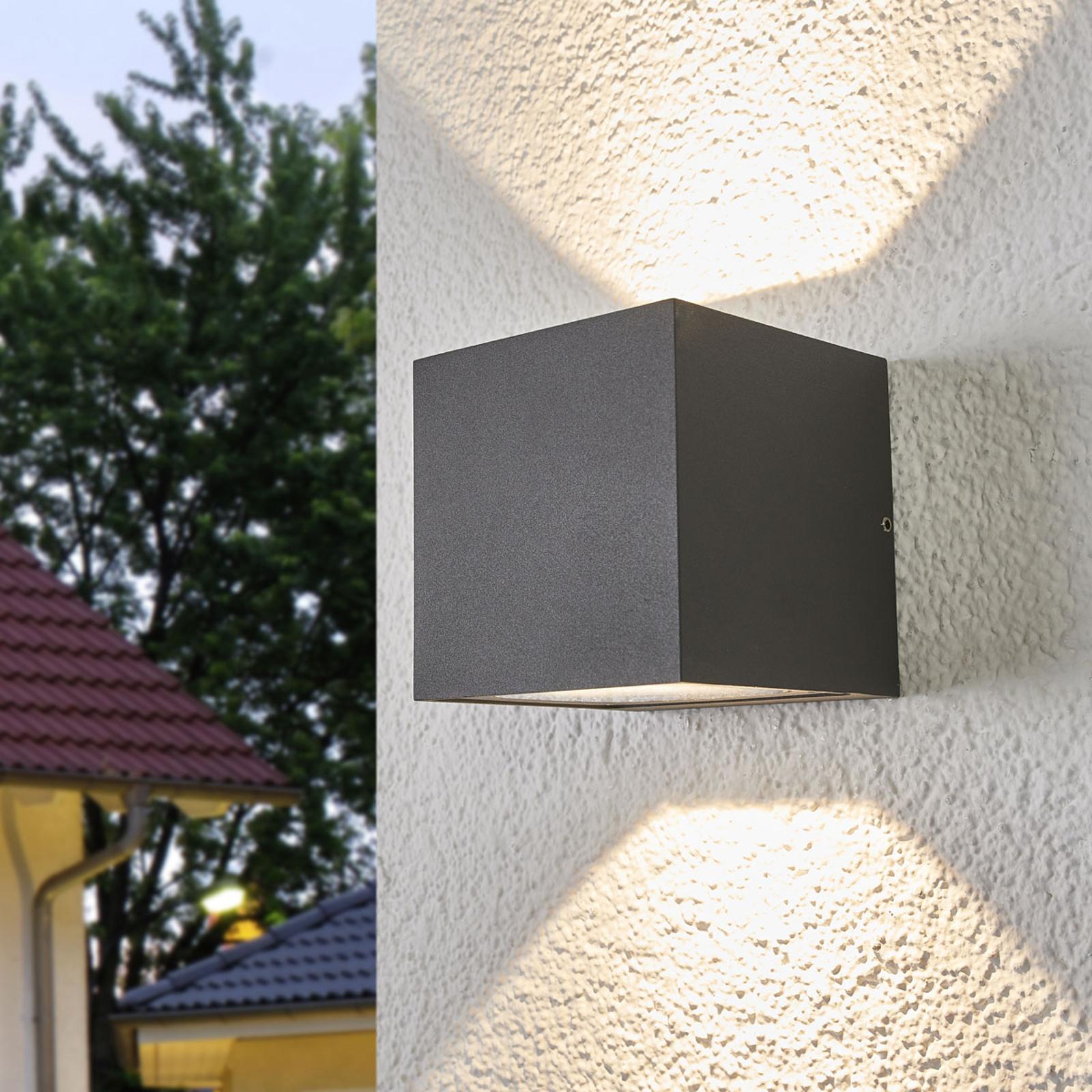 Op- en neerwaarts verlichtende wandlamp Merjem