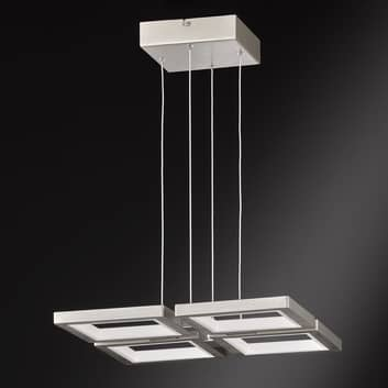 LED-hengelampe Viso - dimbar via veggbryter