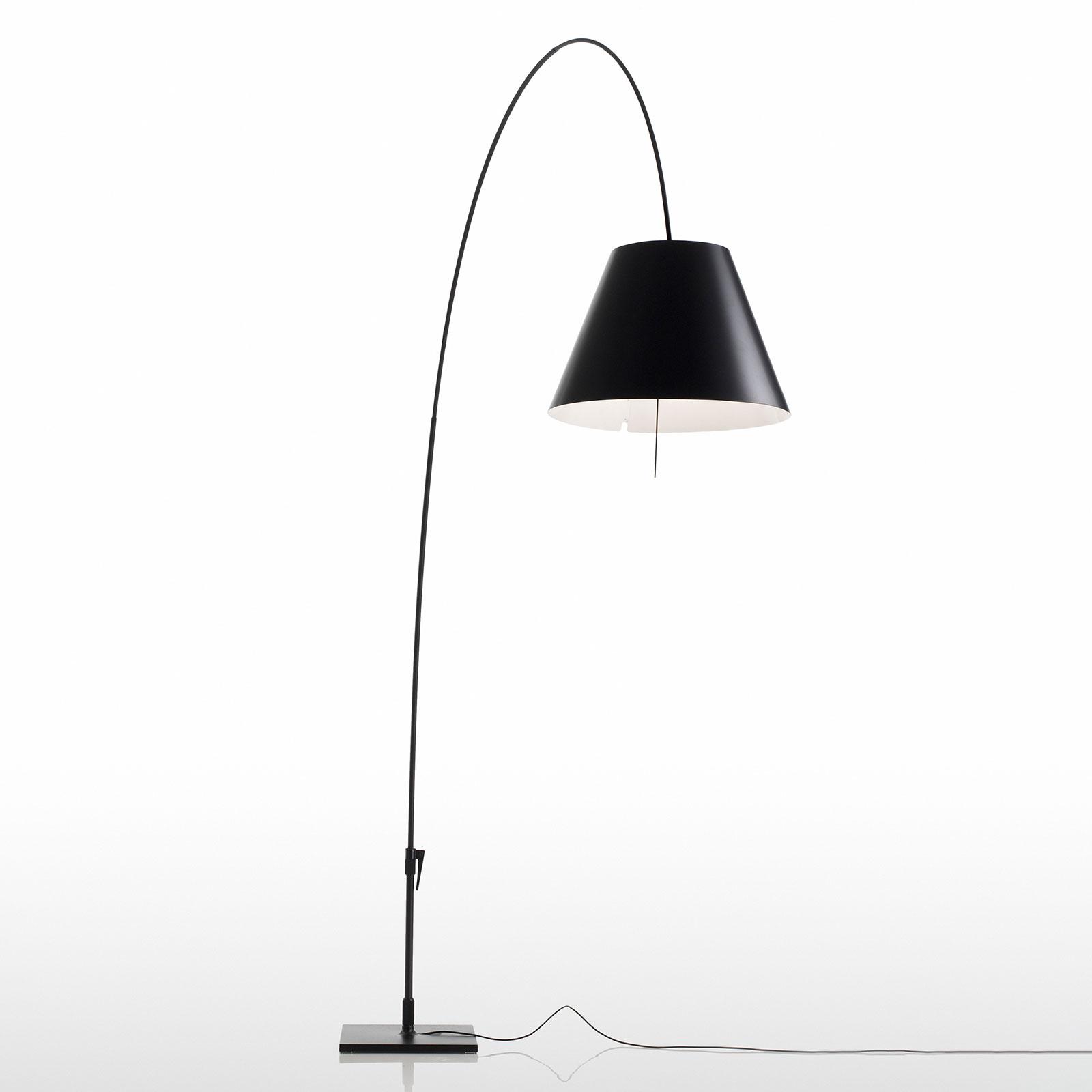 Luceplan Lady Costanza vloerlamp D13E I, zwart