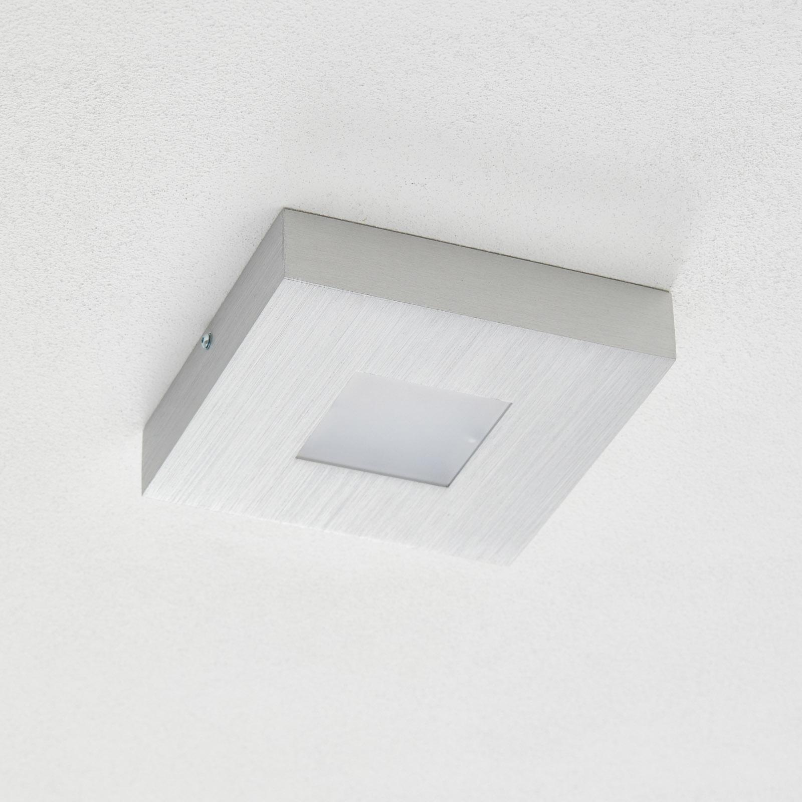Bopp Cubus quadratische LED-Deckenleuchte, dimmbar