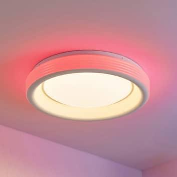 Lindby Inarum plafón LED, RGB, CCT, atenuable