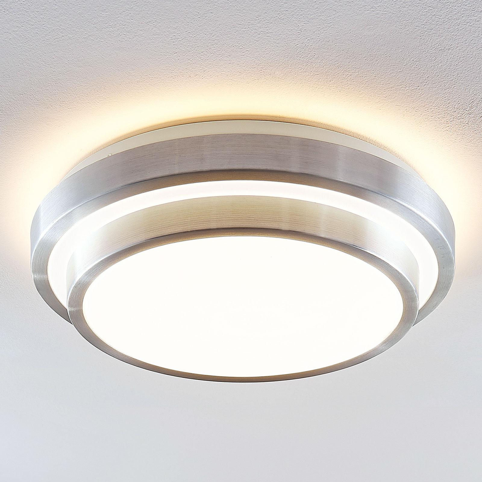 Lindby Naima LED-Alu-Deckenlampe, rund, 41 cm