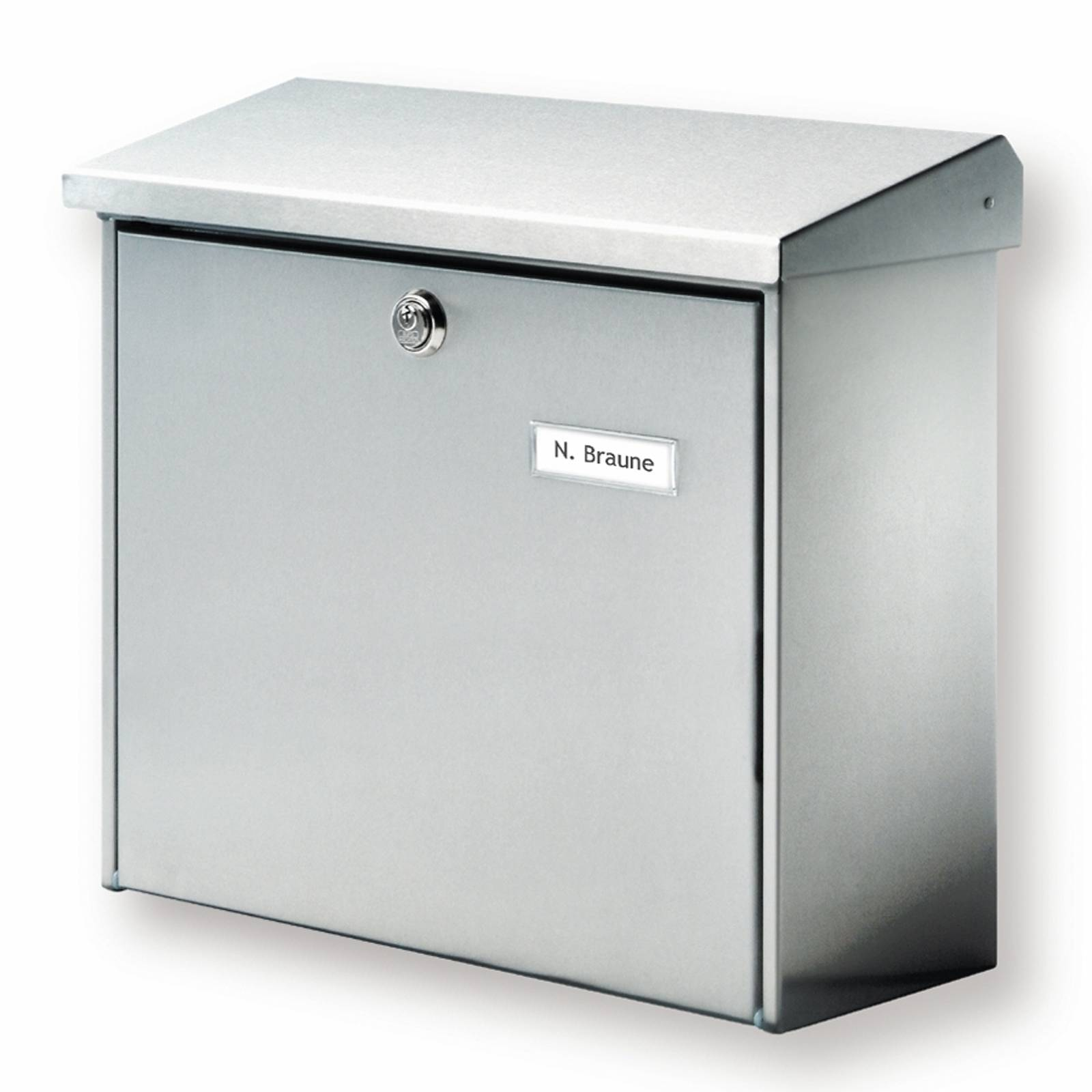 Stainless steel letterbox Comfort
