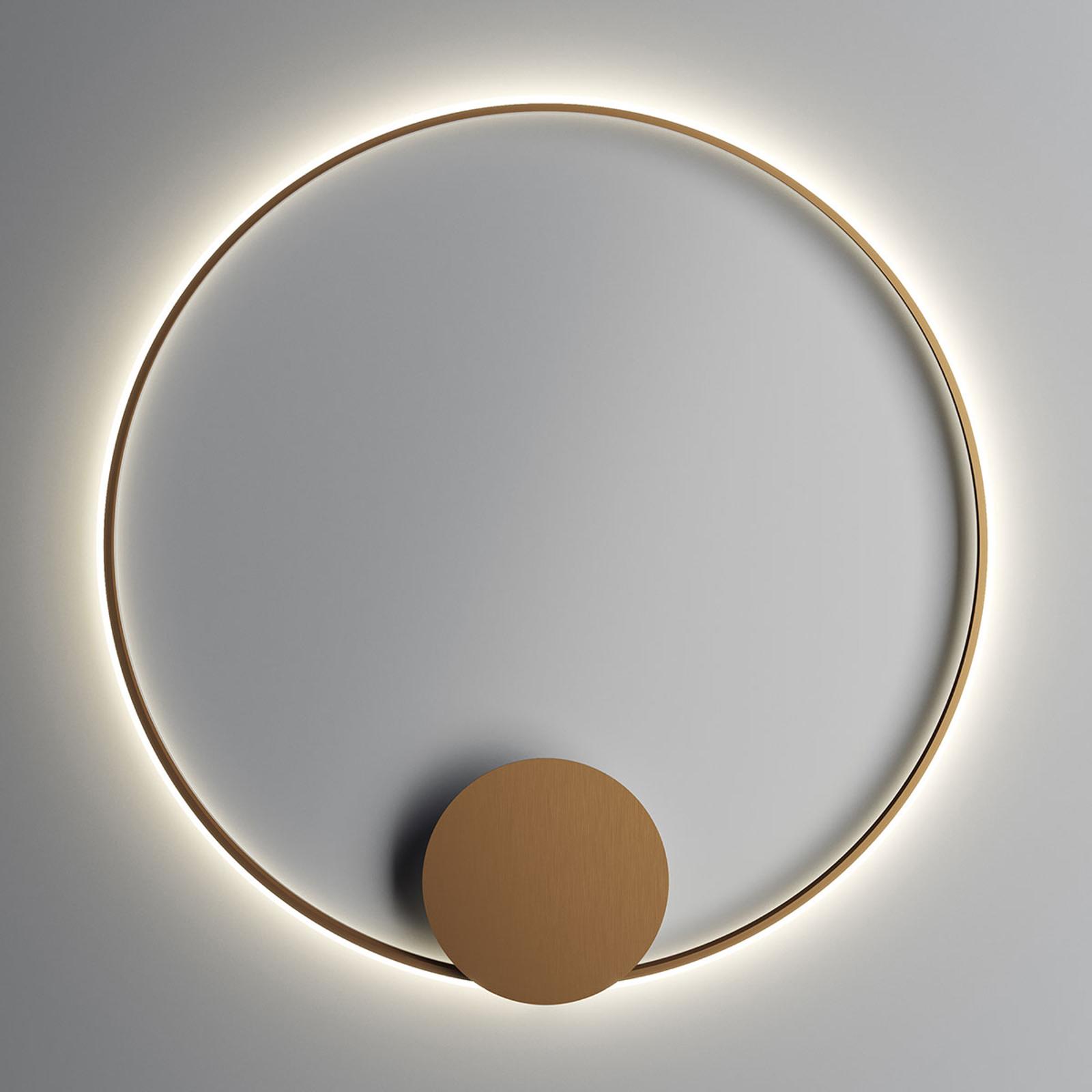 Fabbian Olympic LED-Wandleuchte Ø 110 cm bronze