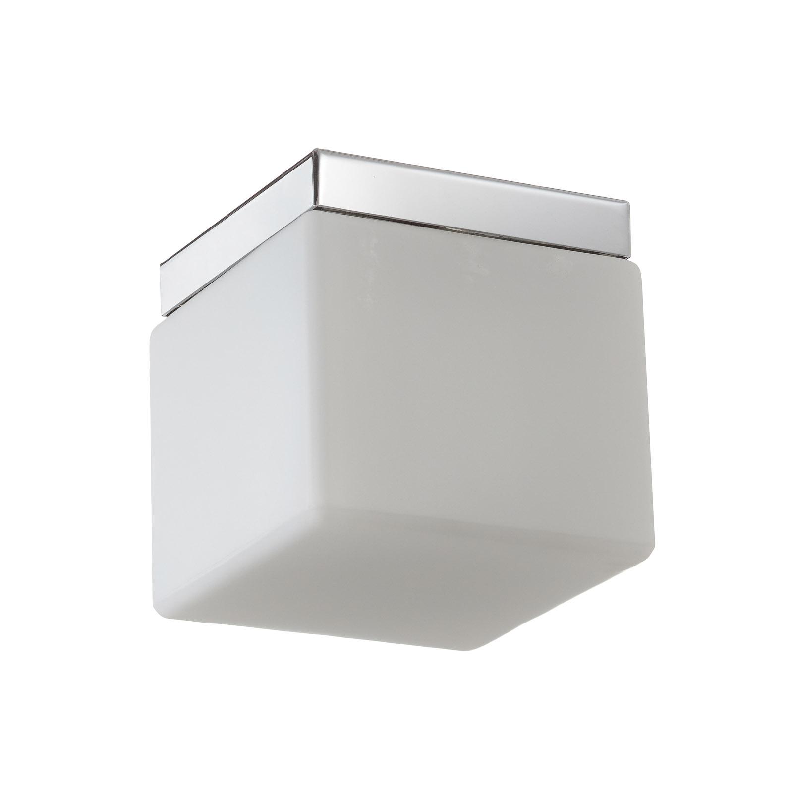 Tischleuchte Cubis, chrom