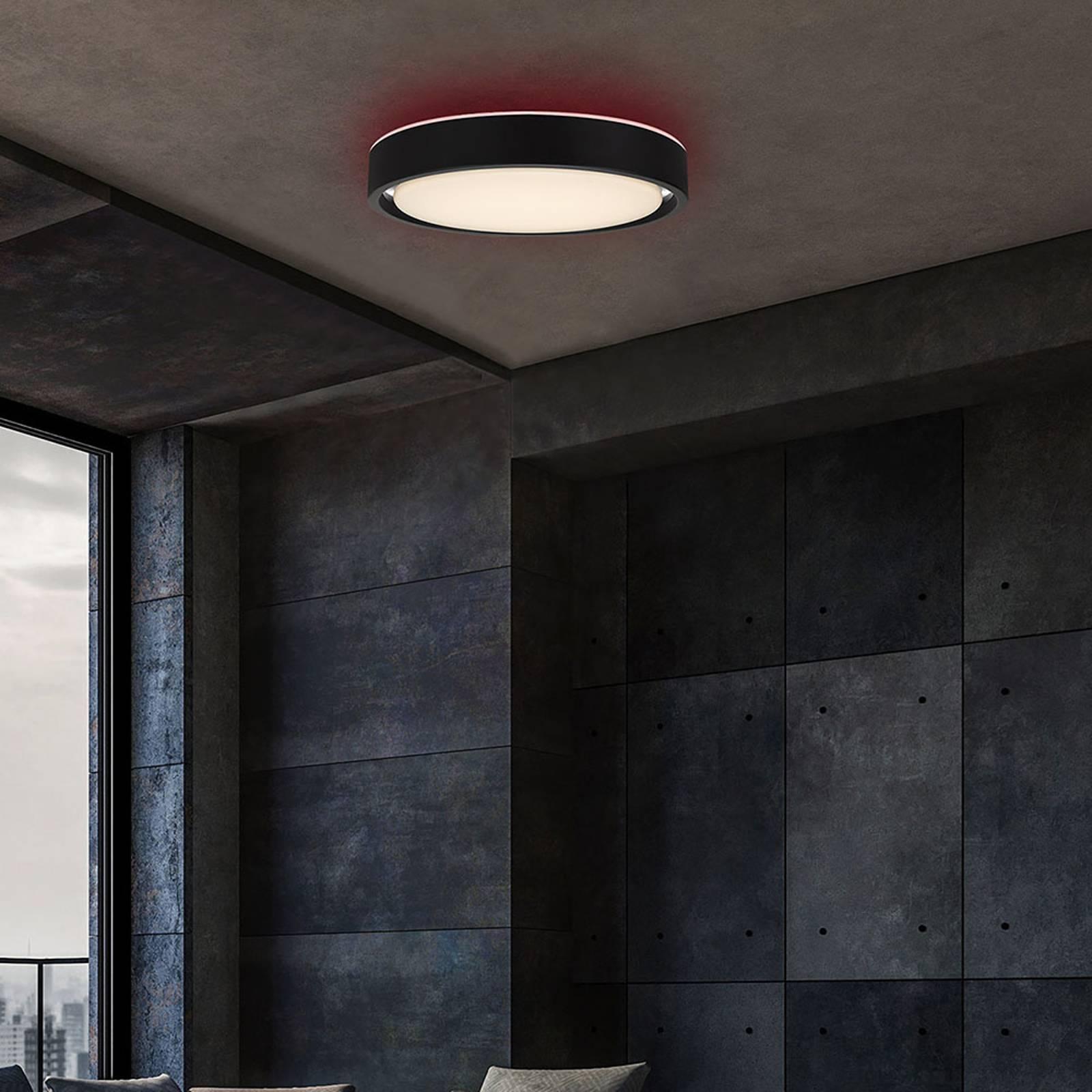 Lampa sufitowa LED Talena M RGB CCT czujnik czarna