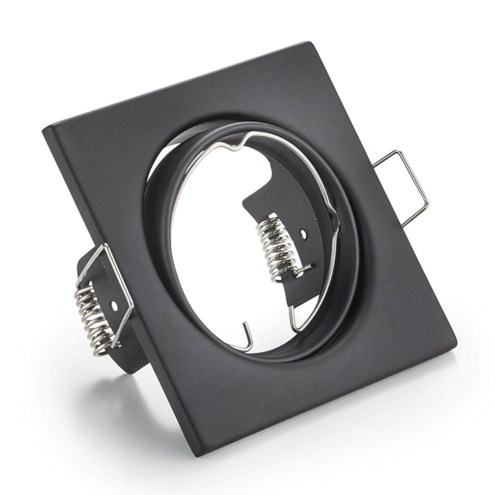 Downlight orientabile Jura, nero