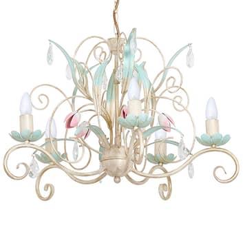 Kroonluchter Luce, 5-lamps
