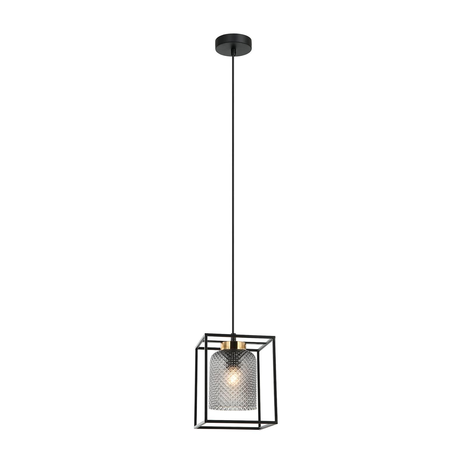 Suspension Zac aspect cage, une lampe