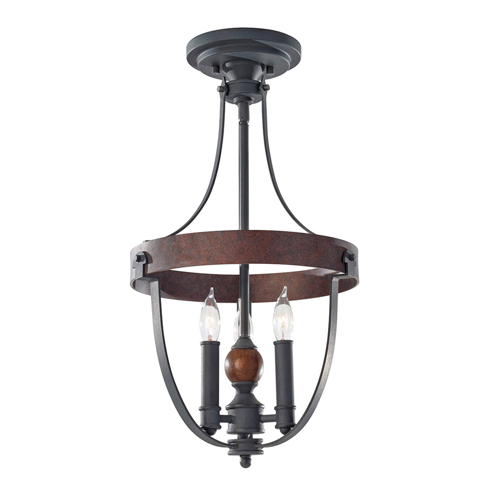 Country-stil-taklampe Alston
