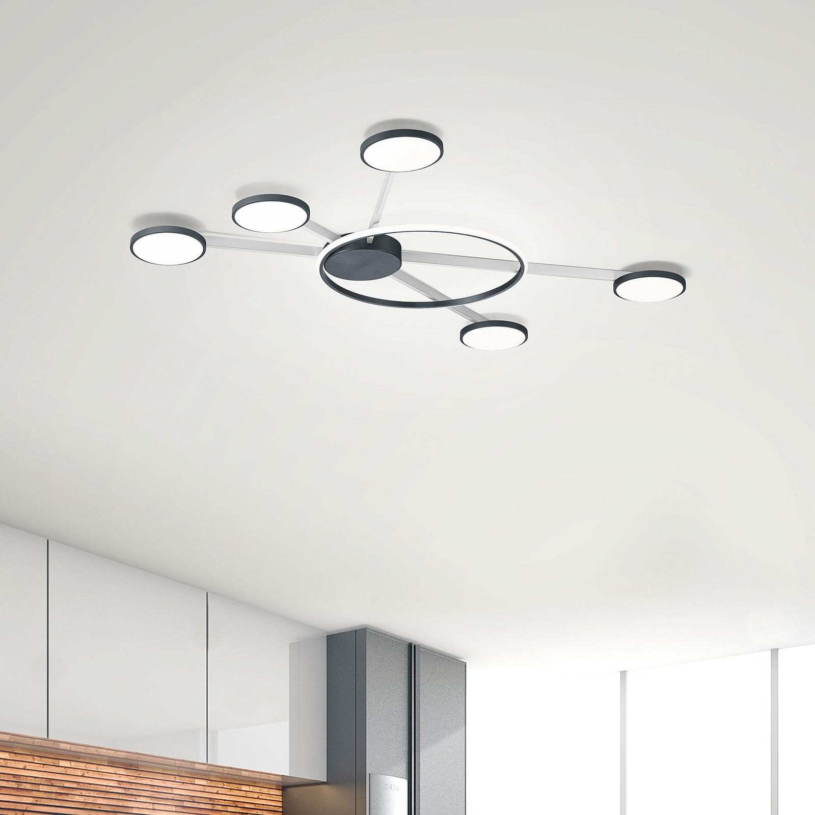 Bopp Satellite lampa sufitowa LED 6-pkt. smart