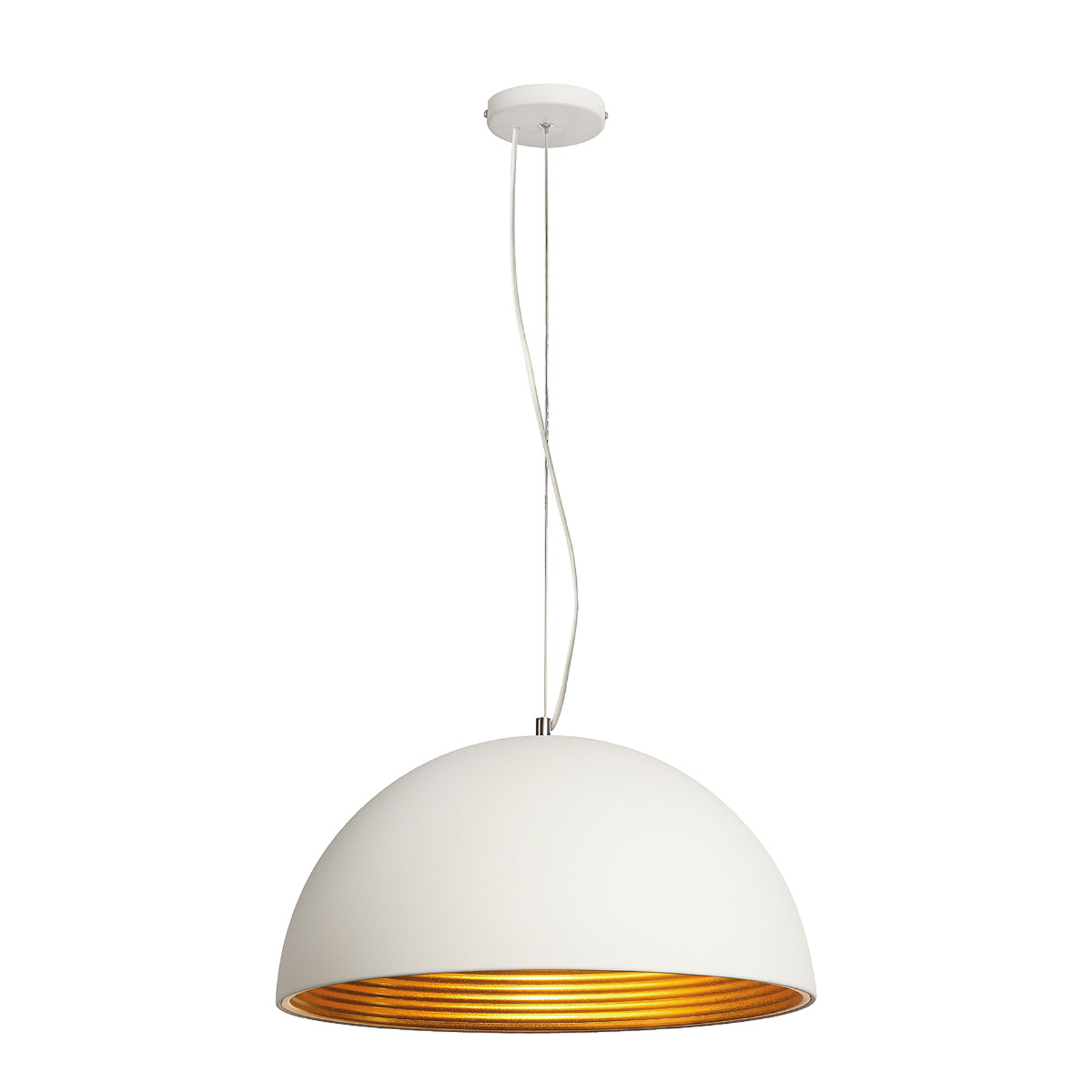 Forchini M pendellamp 50 cm wit goud