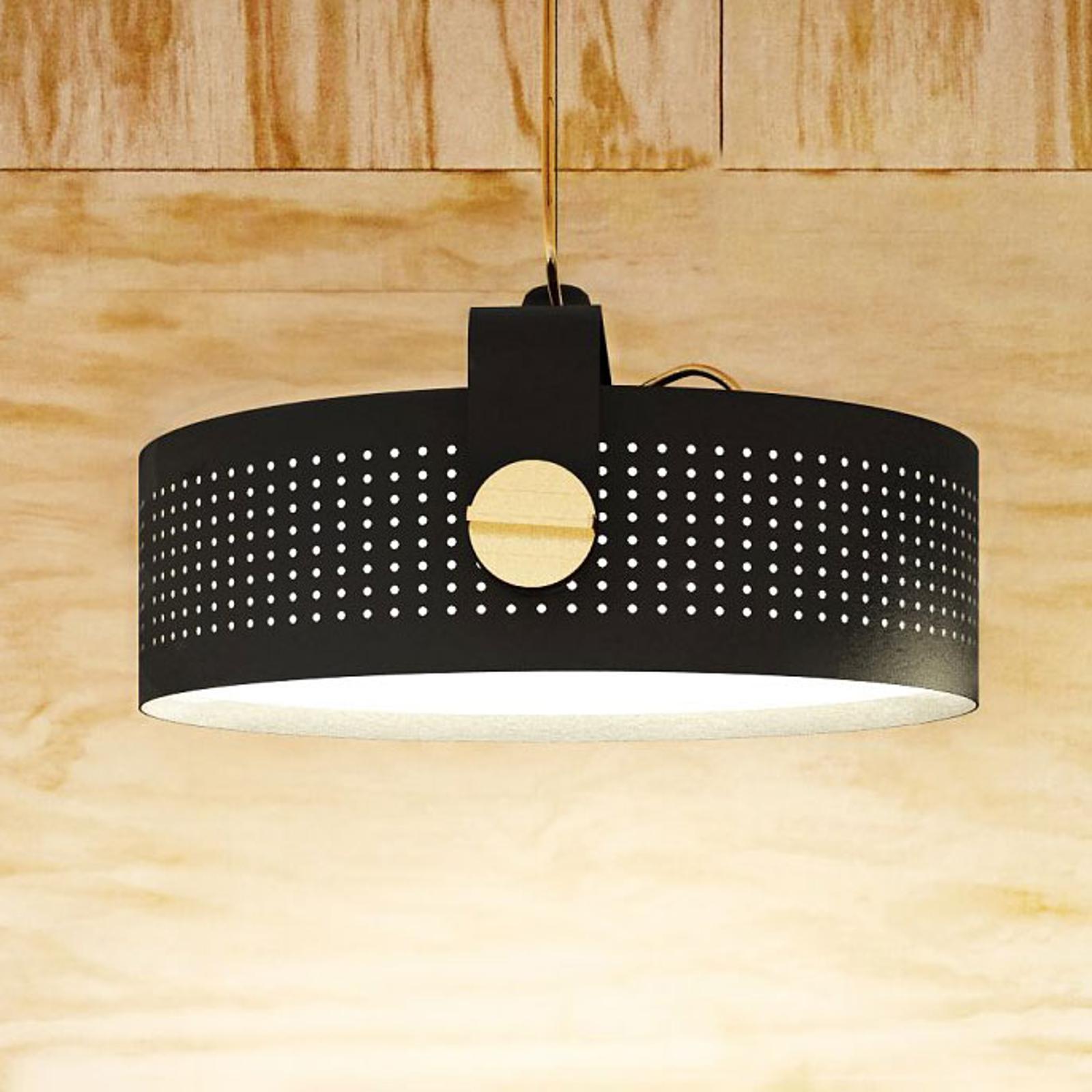 Martinelli Luce Modena LED-Hängeleuchte, schwarz
