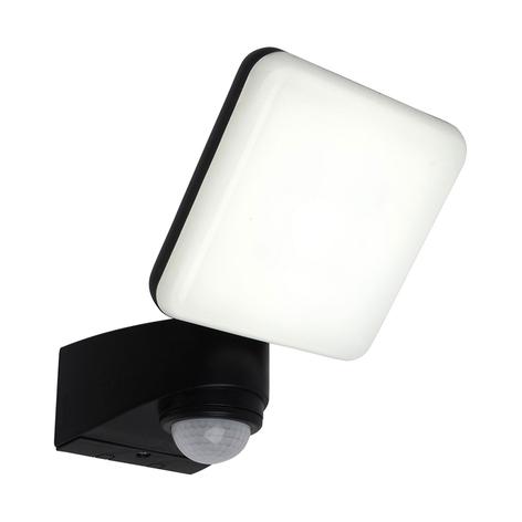 LED-utomhusvägglampa Jaro, sensor, 1 lampa