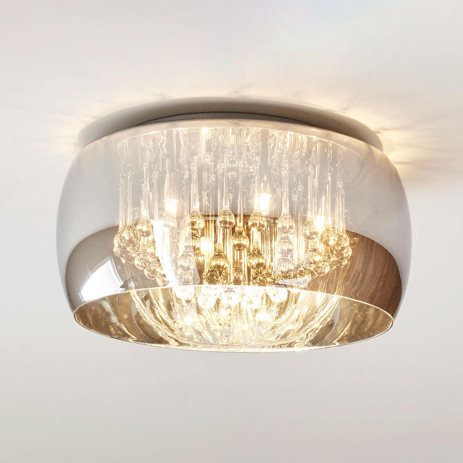 Lampa sufitowa Pearl ze szkła, Ø 50 cm