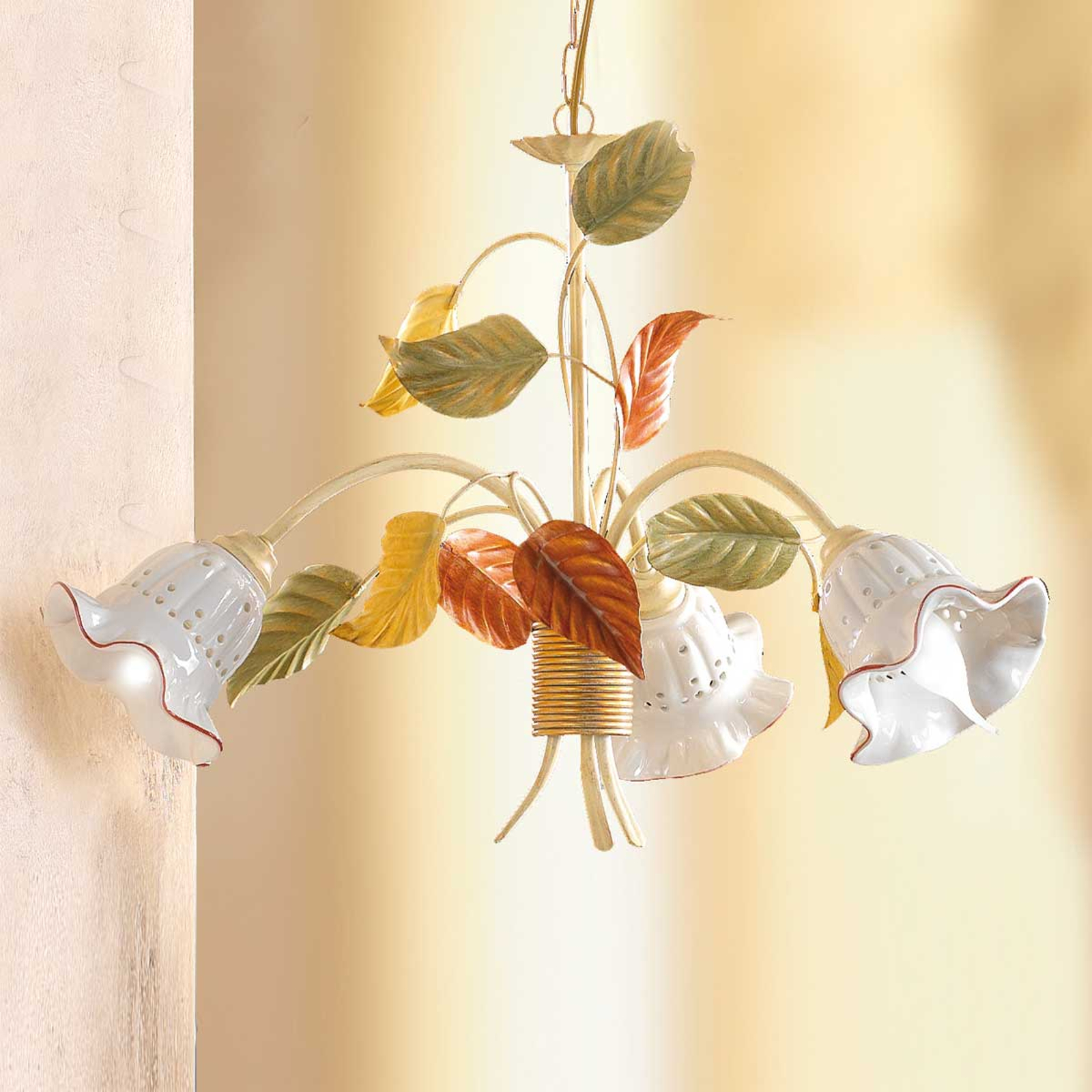 Flora hengelampe i florentinsk stil