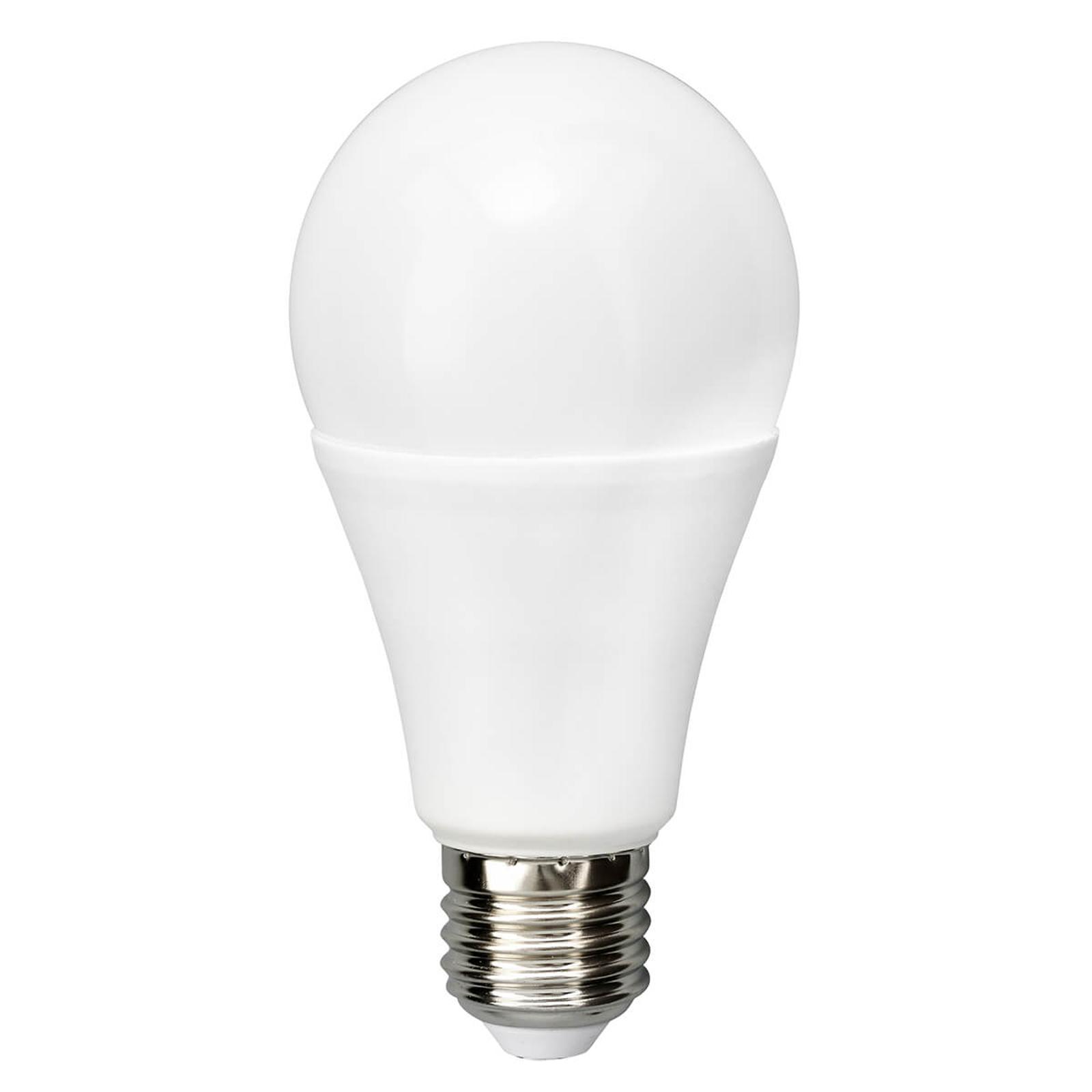 E27 20W 827 lampadina LED satinata