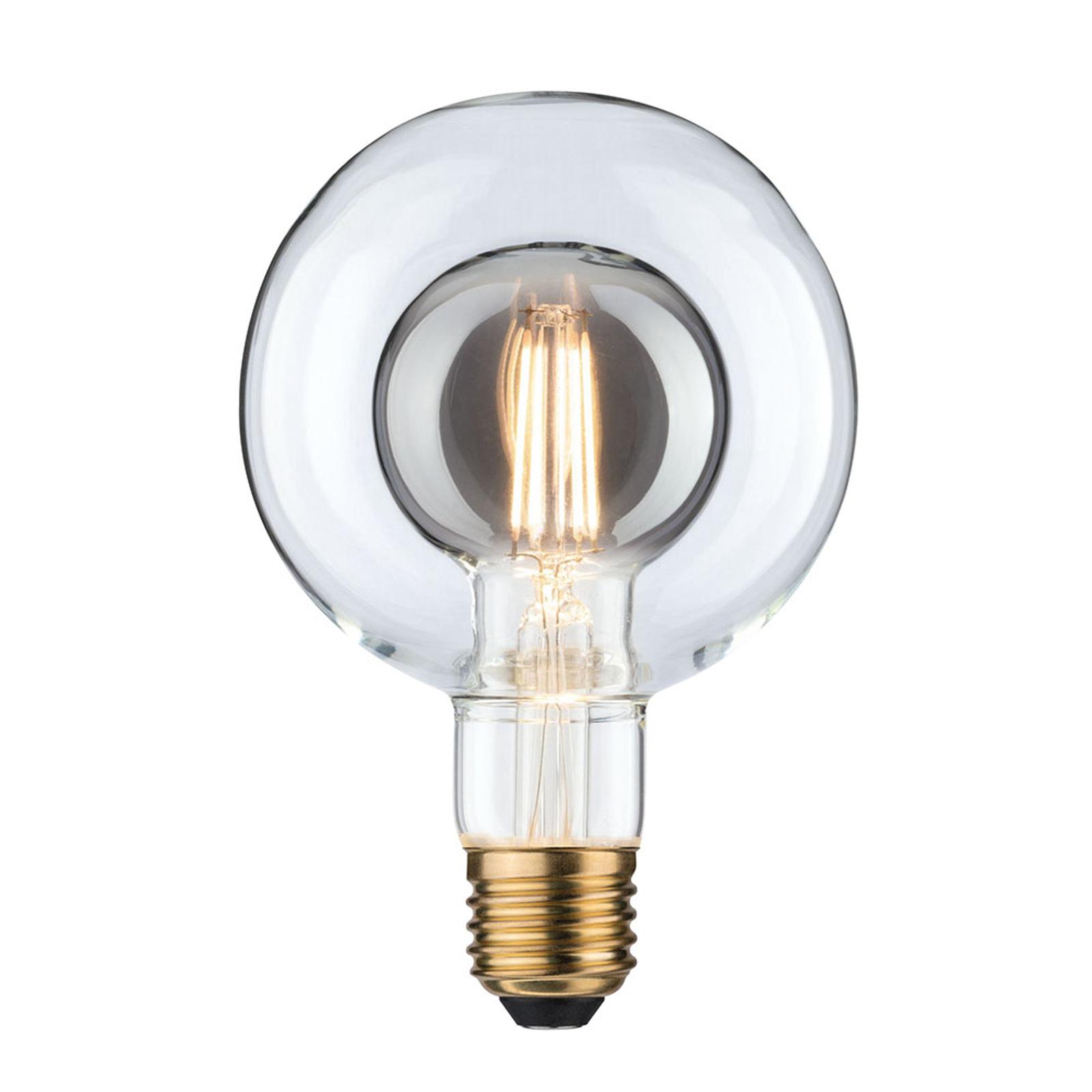 Paulmann LED-globe E27 Inner Shape G95 4W røyk