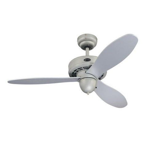 Westinghouse Ventilator Airplane, silber