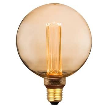 LED-Globelampe E27 5W, warmweiß, 3-Step-dim gold
