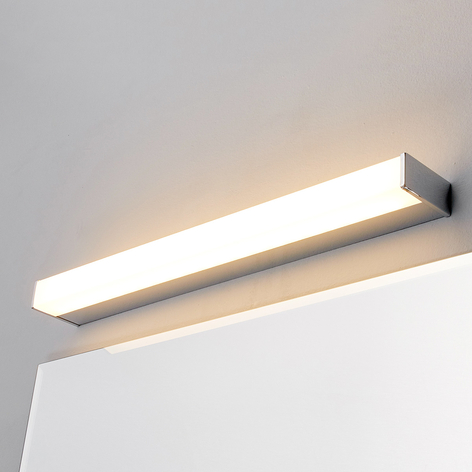 LED-badrums-/spegellampa Philippa kantig, 58cm