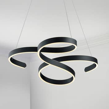 Lampa wisząca LED Francis, zamaszysty projekt