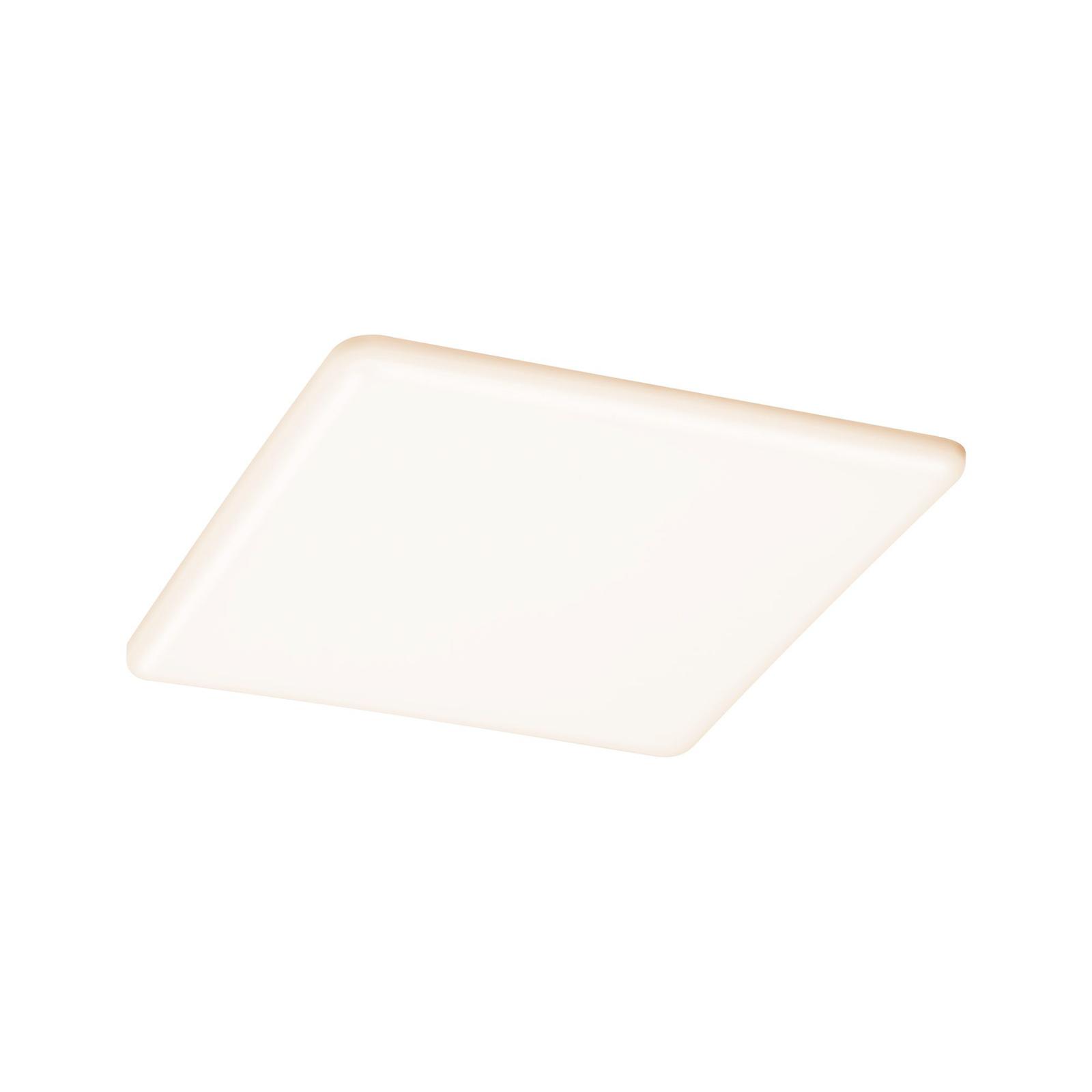 Paulmann LED-Panel Veluna eckig 3-Step CCT 18,5cm