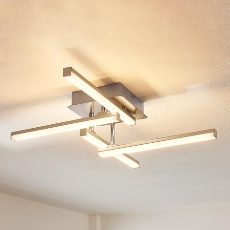 4bodová stropní LED lampa Launrenzia, stmívač