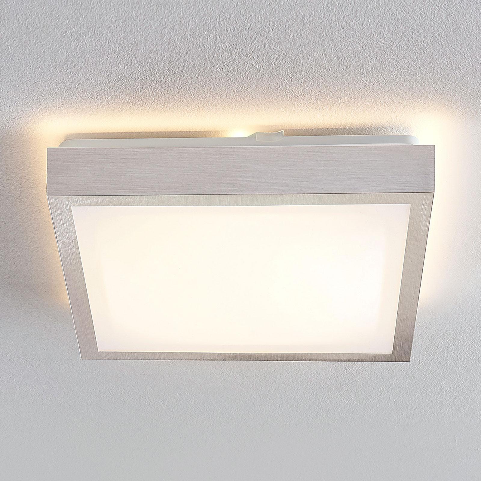 Lindby Margit lampa sufitowa LED alu kątowa, 32 cm